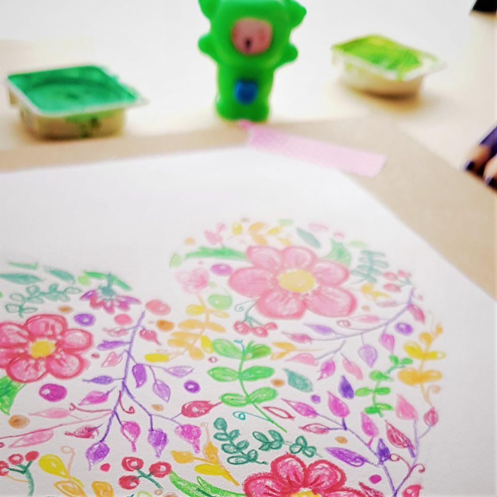 tutorial de coloring con doodles