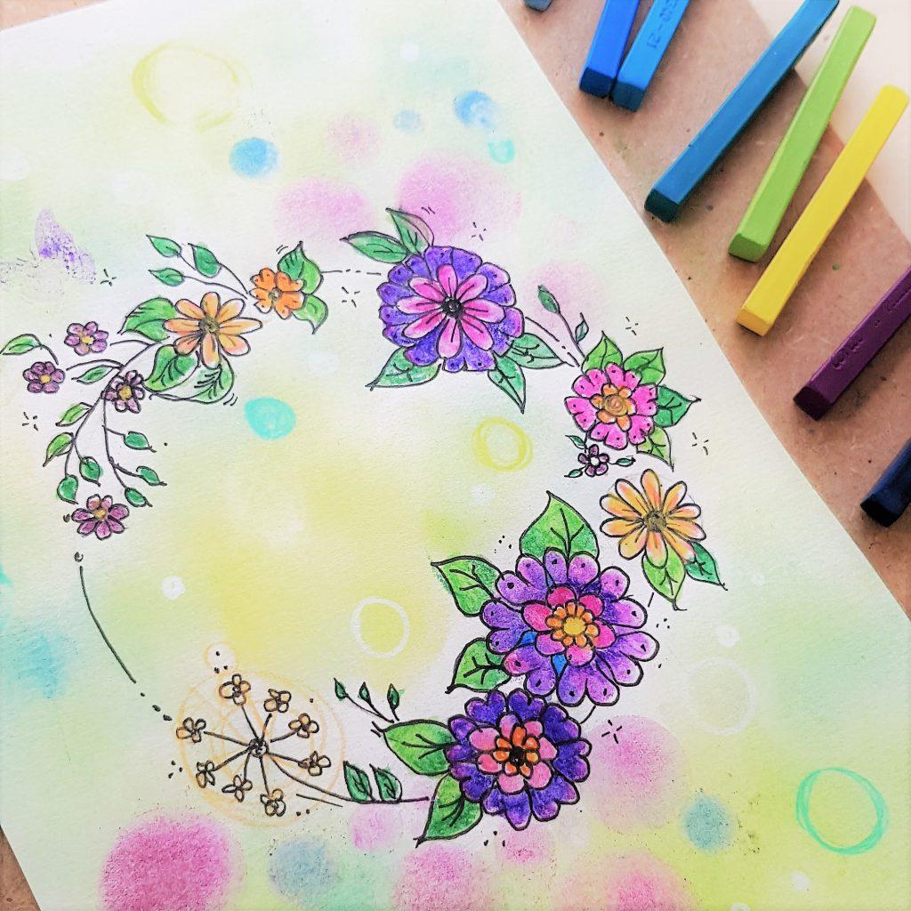 tutorial de coloring art